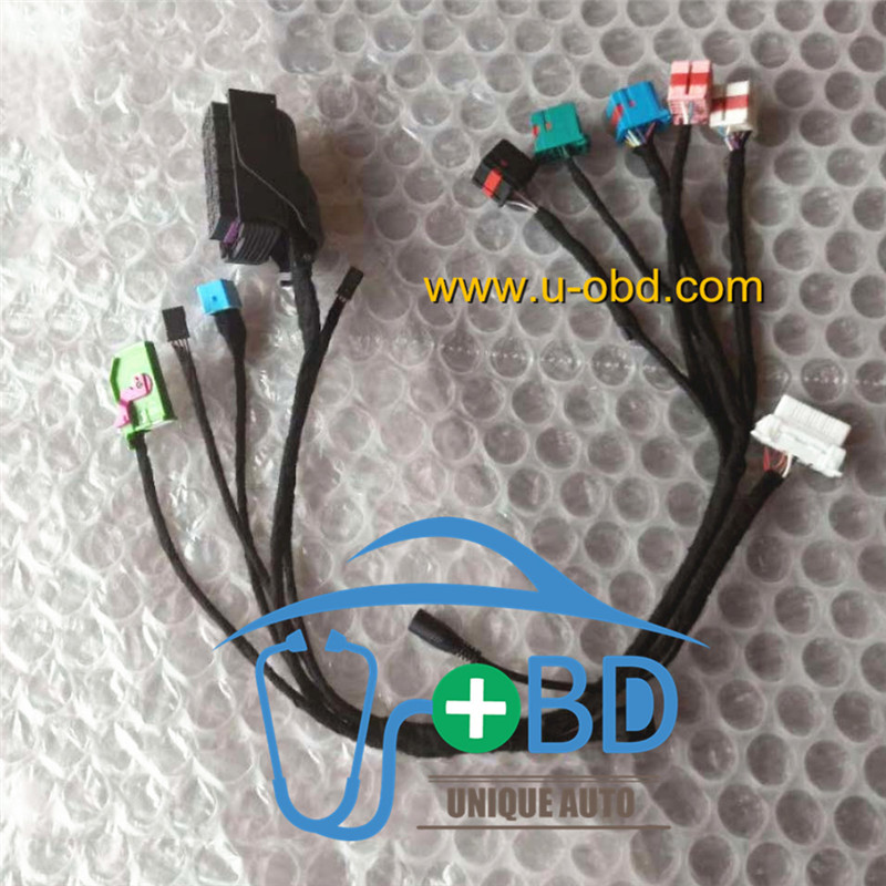 Chevrolet CRUZE test platform key adapting cables