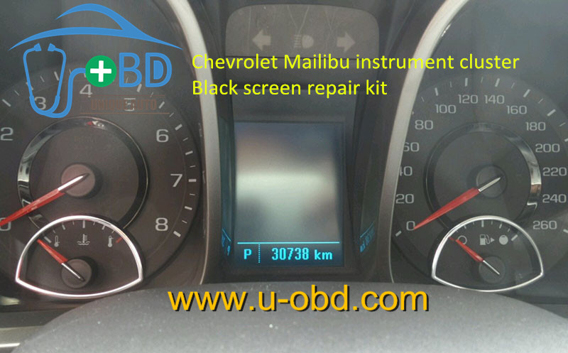 GM chevrolet malibu dashboard common fault maintenance solution