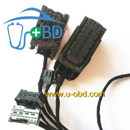 Key making platform cables for PORSCHE