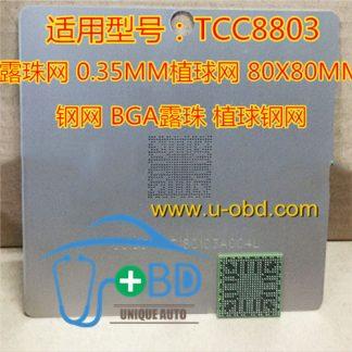 TCC8803 HYUNDAI ELANTRA SONATA IX35 reballing Stencil