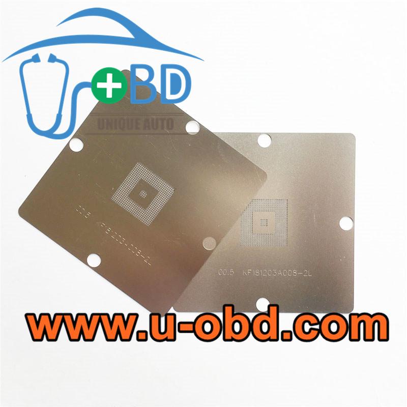 TMS320DRA342AZDK AUDI A5 0.5mm BGA chip reballing stencil
