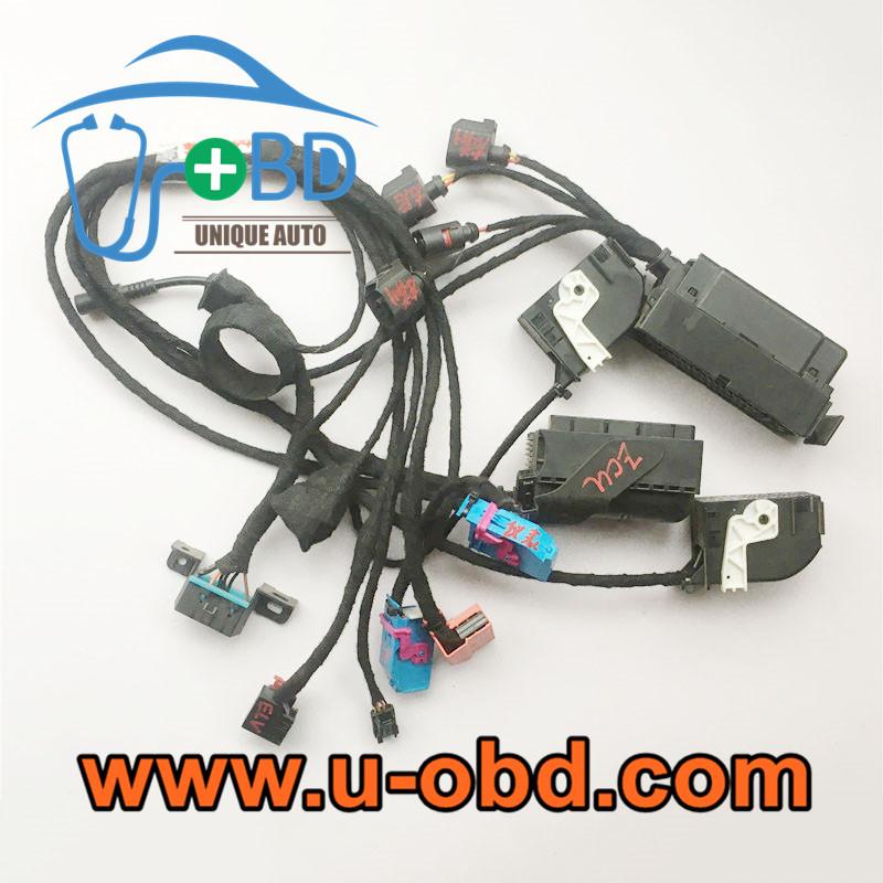 VW Passat Smart key programming cables ABS testing paltform