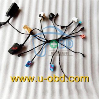 Volkswagen PASSAT smart key duplicate harness test platform cables