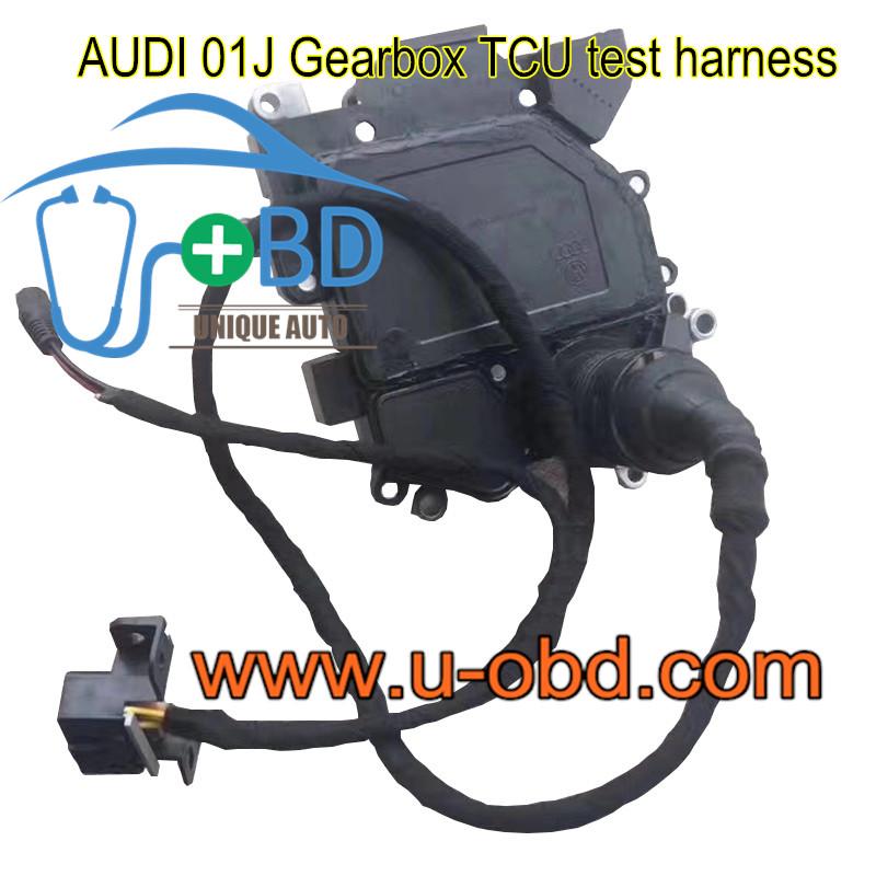 AUDI 01J Gearbox TCU test harness platform cables
