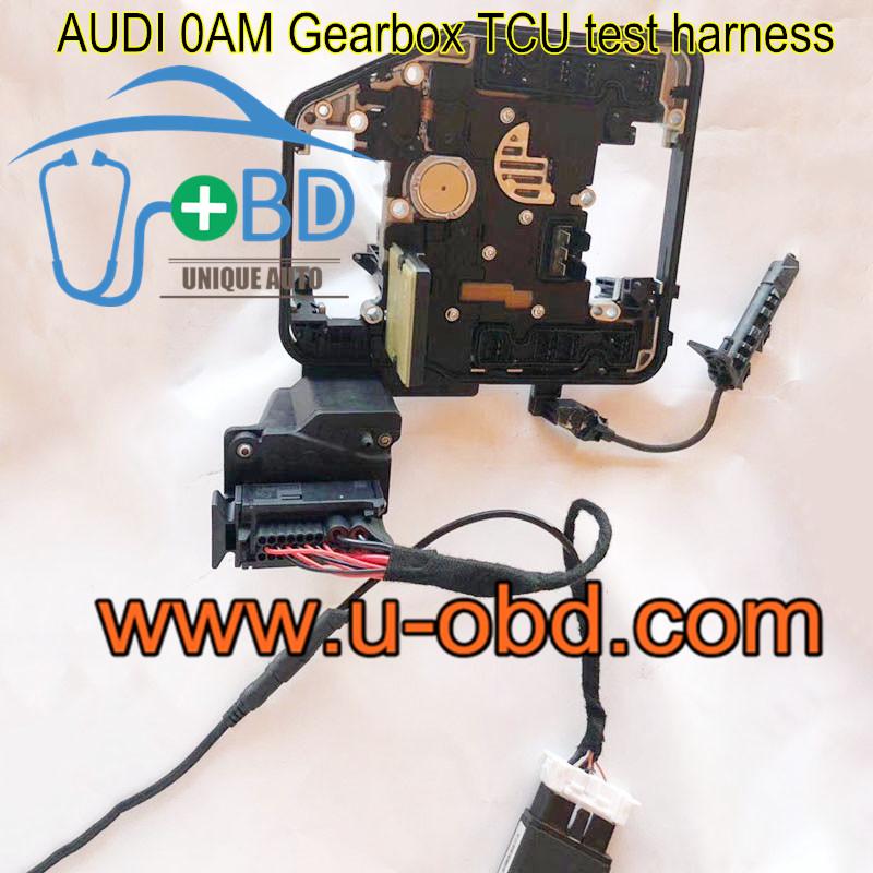 AUDI 0AM Gearbox TCU test harness platform cables