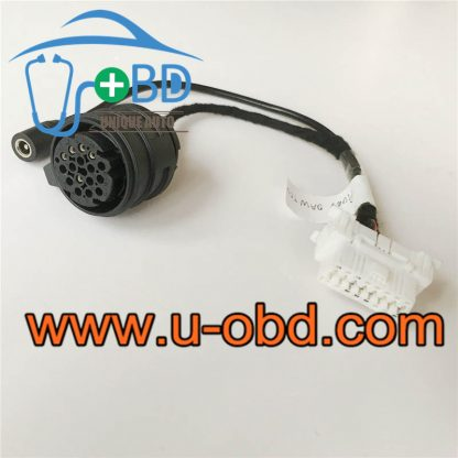 AUDI 0AW gearbox TCU test platform cables