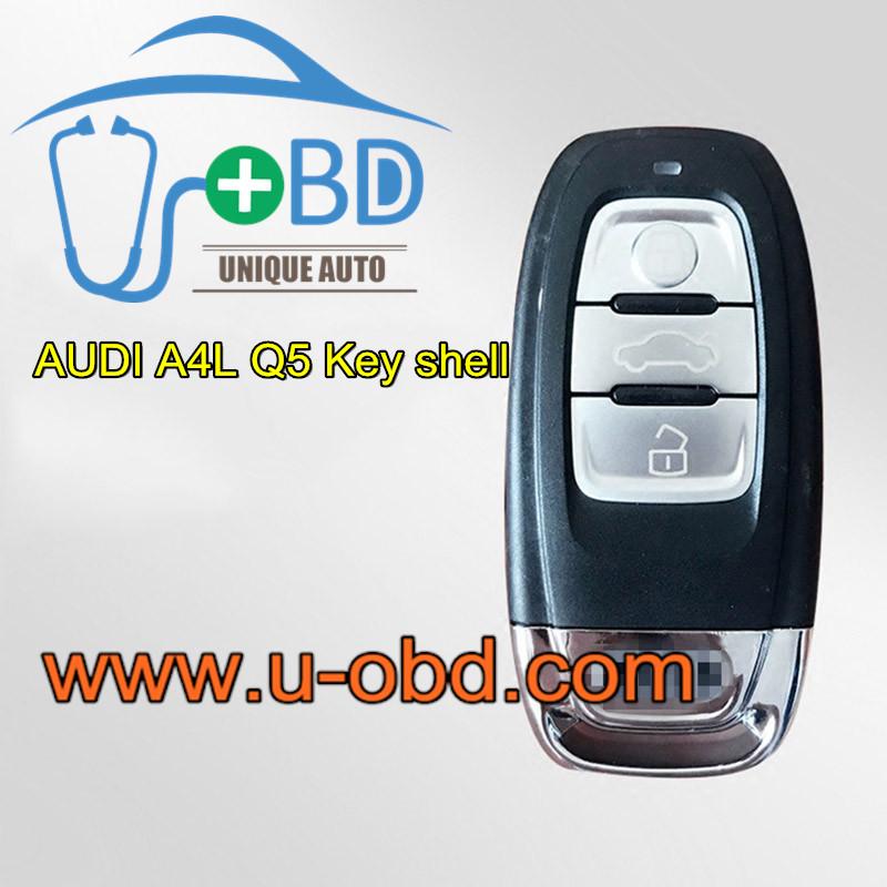 AUDI A4L Q5 interchangeable Key shell case
