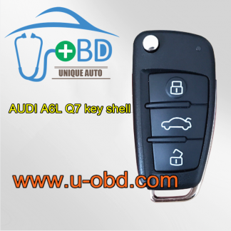 AUDI A6L Q7 interchangeable key shell case