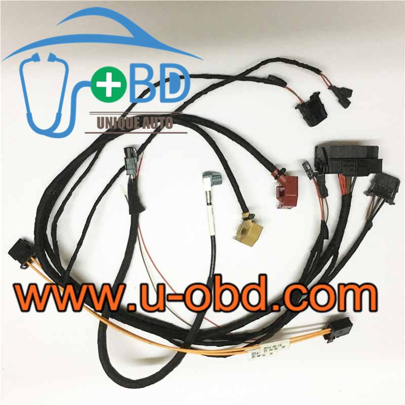 AUDI 2G 3G 3GPlus Audio entertainment MMI test platform harness cables