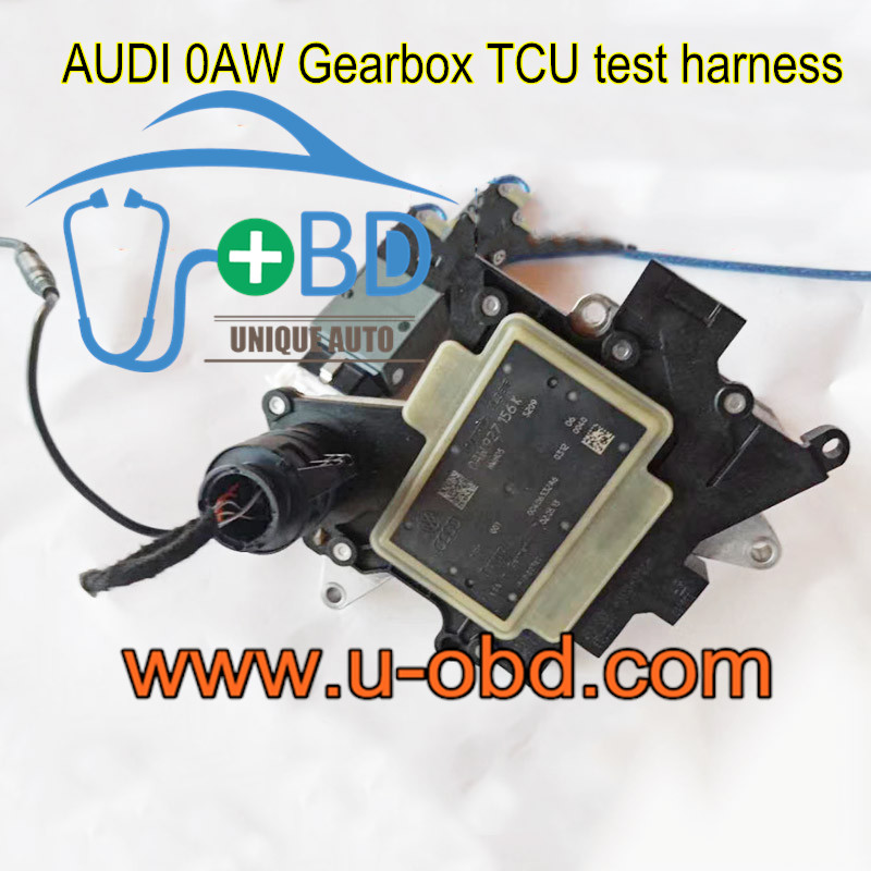 AUDI Multitronic 0AW Gearbox TCU test harness platform cables