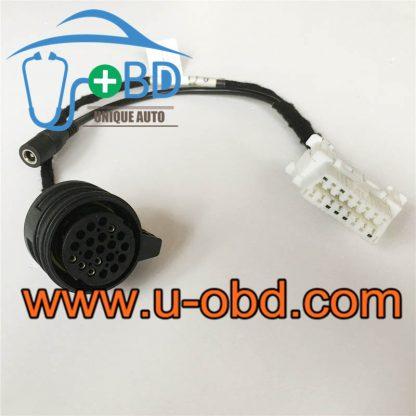 AUDI TCU 01J gearbox control unit test harness