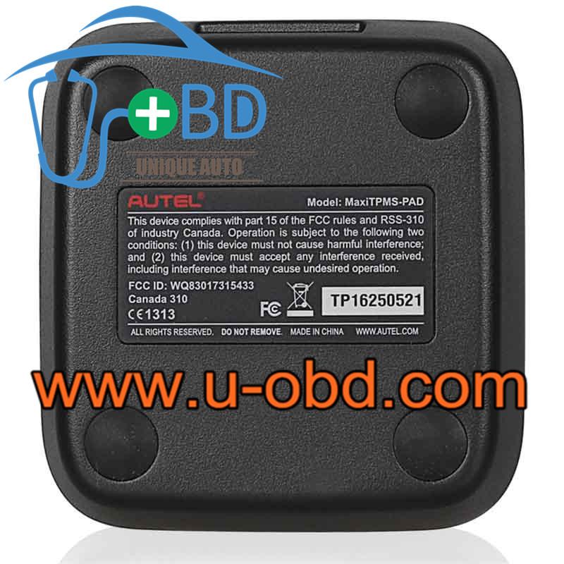 Autel Tire pressure programmable Mx-sensor 433MHz 315MHz MaxTPMS Pad