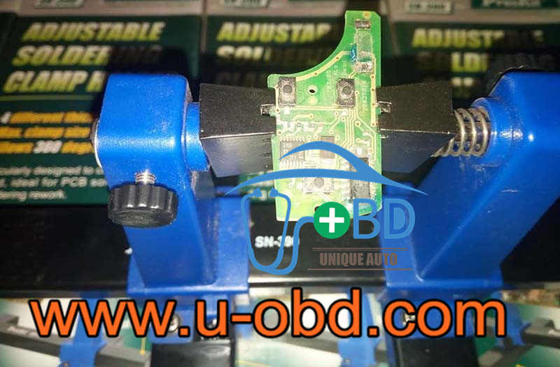 Auto ECU board repair fixture