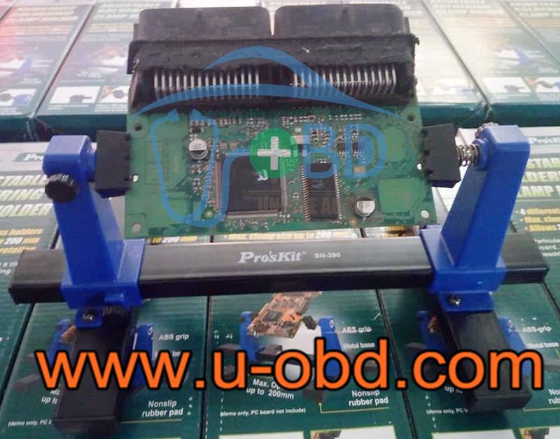 Auto ECU repair fixture