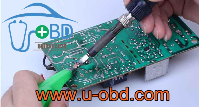 Avoid Ironing desoldering wick soldering wick