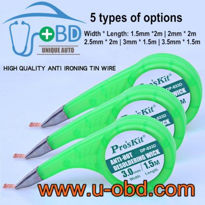 High quality anti Ironing Tin wire desolering wick