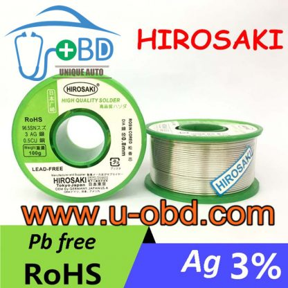 Lead-free silver solder wire high end silver solder wire various diameter optional