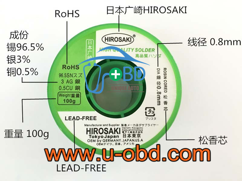 Lead-free silver solder wire high end silver solder wire various diameter