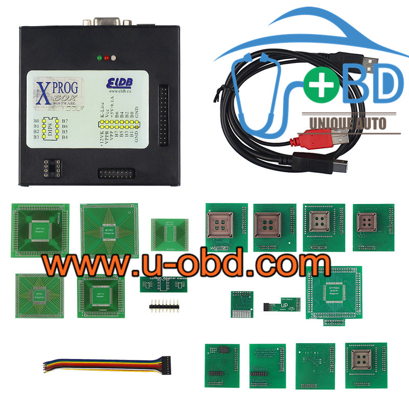 Newest Version XPROG M 5.74 ECU programmer tuning tools