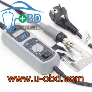 Portable removeable soldering Iron with LED display temperature adjustable