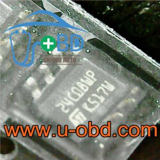 24C08 SOIC8 SOP8 Widely used automotive EEPROM chips
