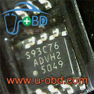93C76 SOIC8 SOP8 Widely used automotive EEPROM chips