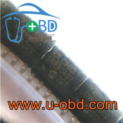 93LC86 Automotive dashboard widely used EEPROM chips