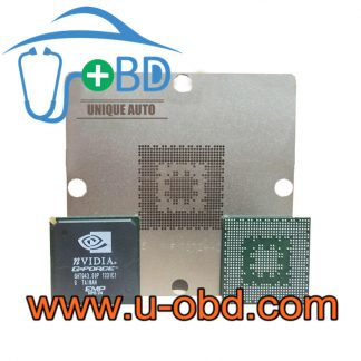 AUDI head unit audio host headunit BGA chip NVIDIA 0.6mm reballing stencil