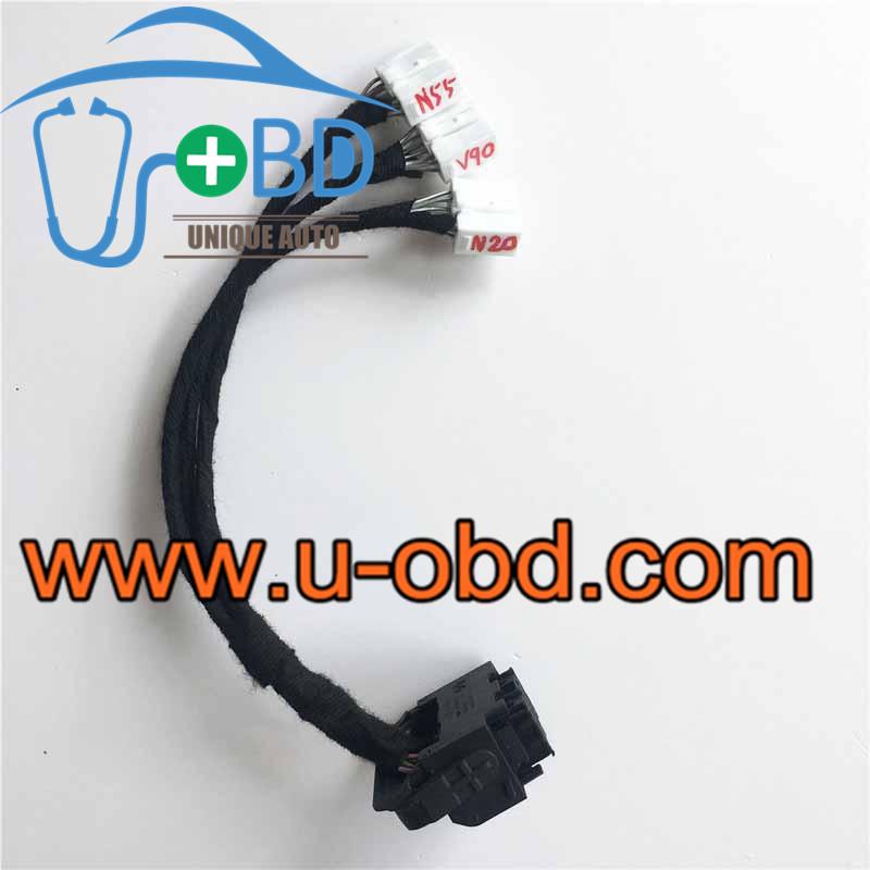 BMW N20 N52 N55 Engine DME MEVD17 MSV90 test platform cables