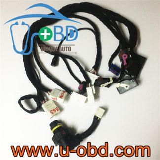 BMW CAS4 Test platform harness bench simulator cables with EGS 8HP TCU plug
