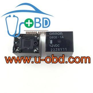 G8QE-1A 12VDC HONDA Accord vulnerable headlight control relays