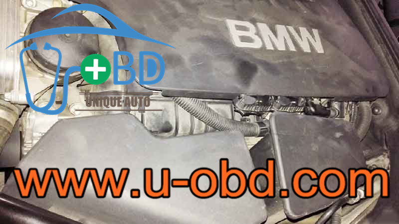 How to repair BMW BSD failure Oil measurement failure