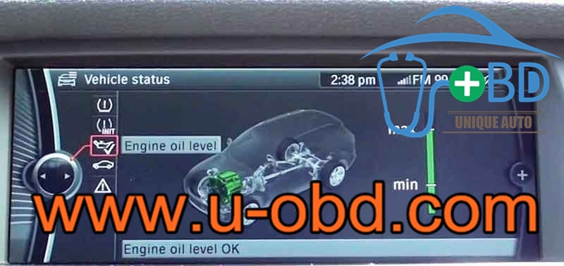 How to repair BMW F18 MSV90 DME oil measurement not work failure
