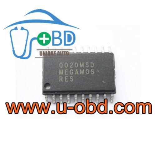 MEGAMOS-RES VOLKSWAGEN instrument cluster vulnerable chips