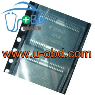 TB9003FG TOYOTA Corolla Vulnerable driver chips