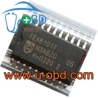 TEA6101T BMW antenna amplifier Vulnerable driver chip