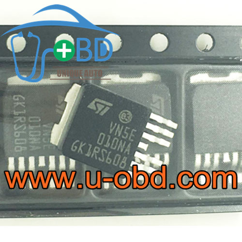 VN5E010NA FORD MONDEO BCM vulnerable headlight driver chip