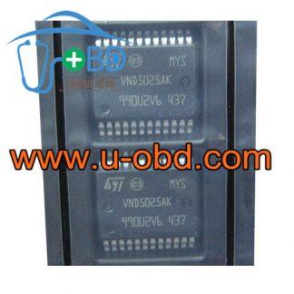 VND5025AK PORSCHE VOLKSWAGEN SKODA Vulnerable trun light driver chip