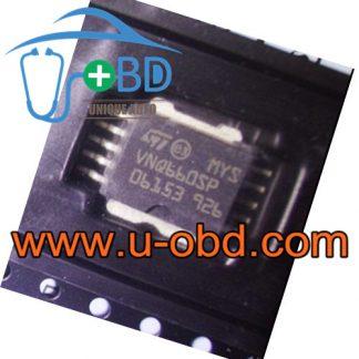 VNQ660SP Peugeot BSI Vulnerable driver chip