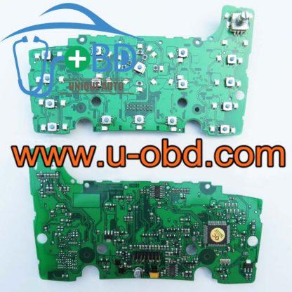 AUDI Q7 MMI Multimedia control panel Audio Navigation keystroke panel 09-14