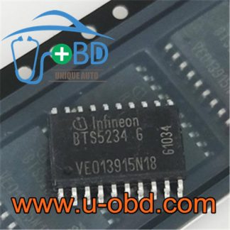 BTS5234G Ford BCM vulnerable light control driver chip