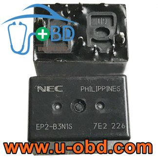 EP2-B3N1S Widely used automotive BCM Vulnerable relays