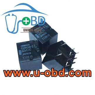 G8NW-2L-12VDC Widely used vulnerable automotive BCM relays