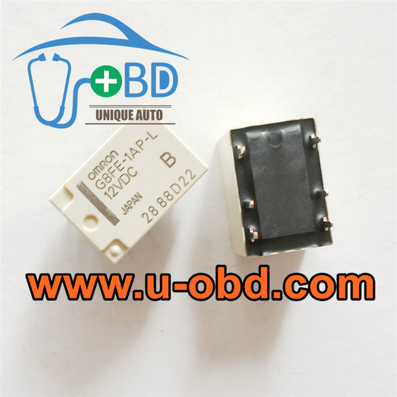 G8FE-1AP-L-12VDC Automotive commonly used vulnerable relays