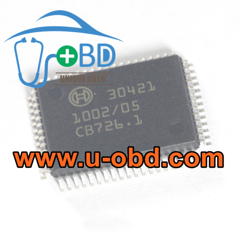 30421 BOSCH ECU widely used vulnerable chips