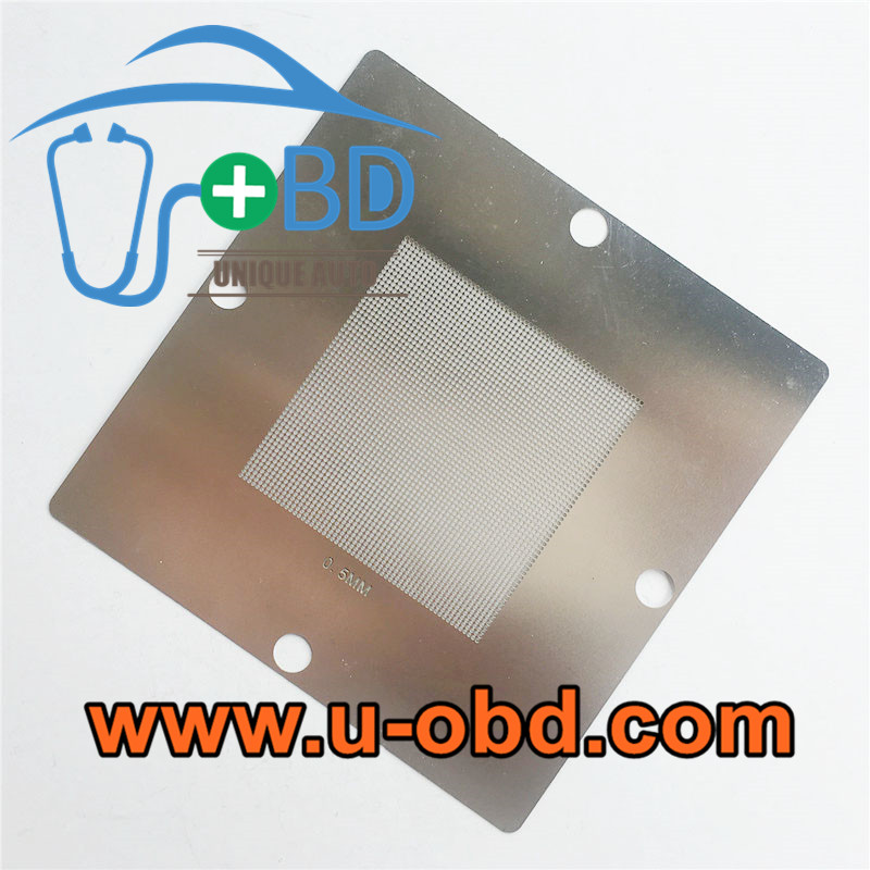 Automotive ECU BGA chip universal Reballing stencil 0.5mm