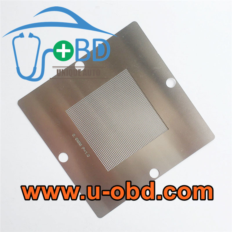 Automotive ECU BGA chip universal Reballing stencil 0.6mm