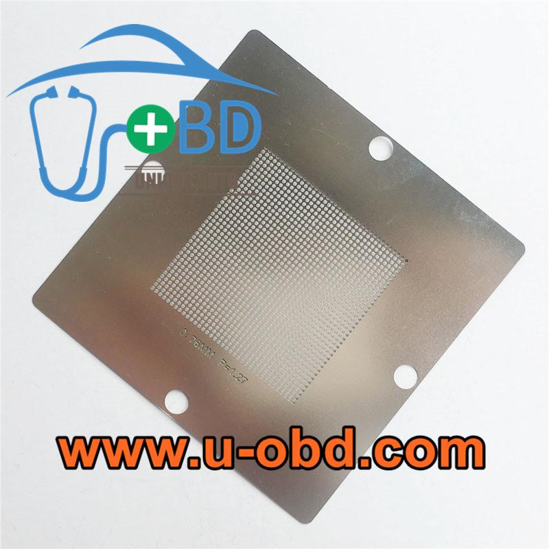 Automotive ECU BGA chip universal Reballing stencil 0.76mm