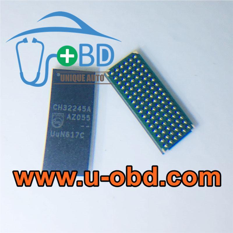 CH32245A BMW Head unit vulnerable memory chip