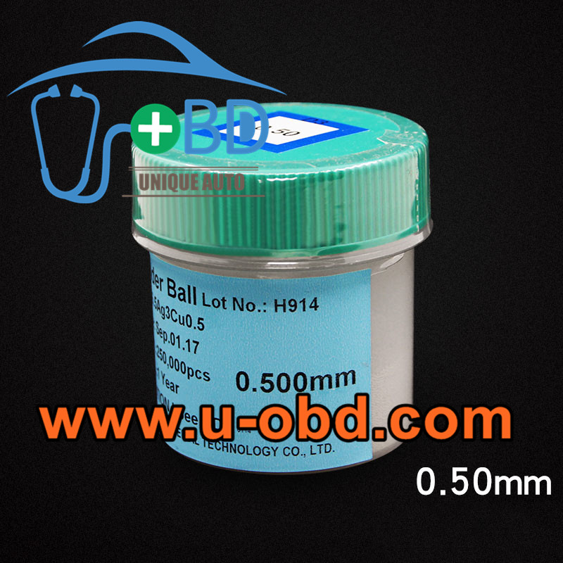 RoHS lead free solder ball 0.5mm BGA reballing